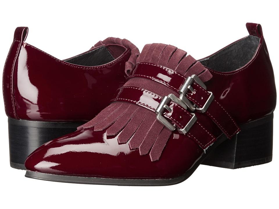 Shellys London - Salisbury (Burgundy) Women's 1-2 inch heel Shoes