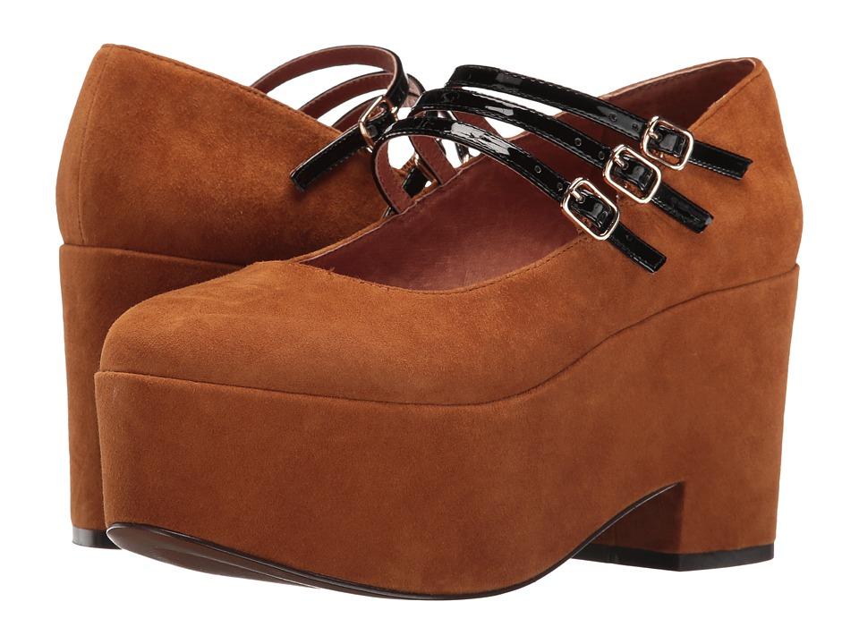 Shellys London Wakefield (Brown) High Heels