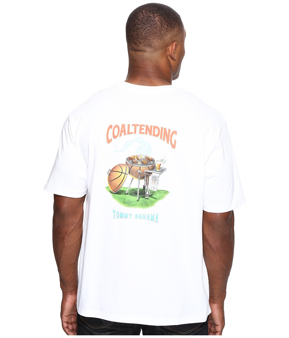 Tommy Bahama Big & Tall - Big Tall Coal Tending T-Shirt (White) Men's T Shirt