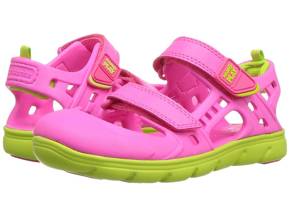 Stride Rite - Made 2 Play Phibian Sandal (Little Kid) (Pink) Girls Shoes
