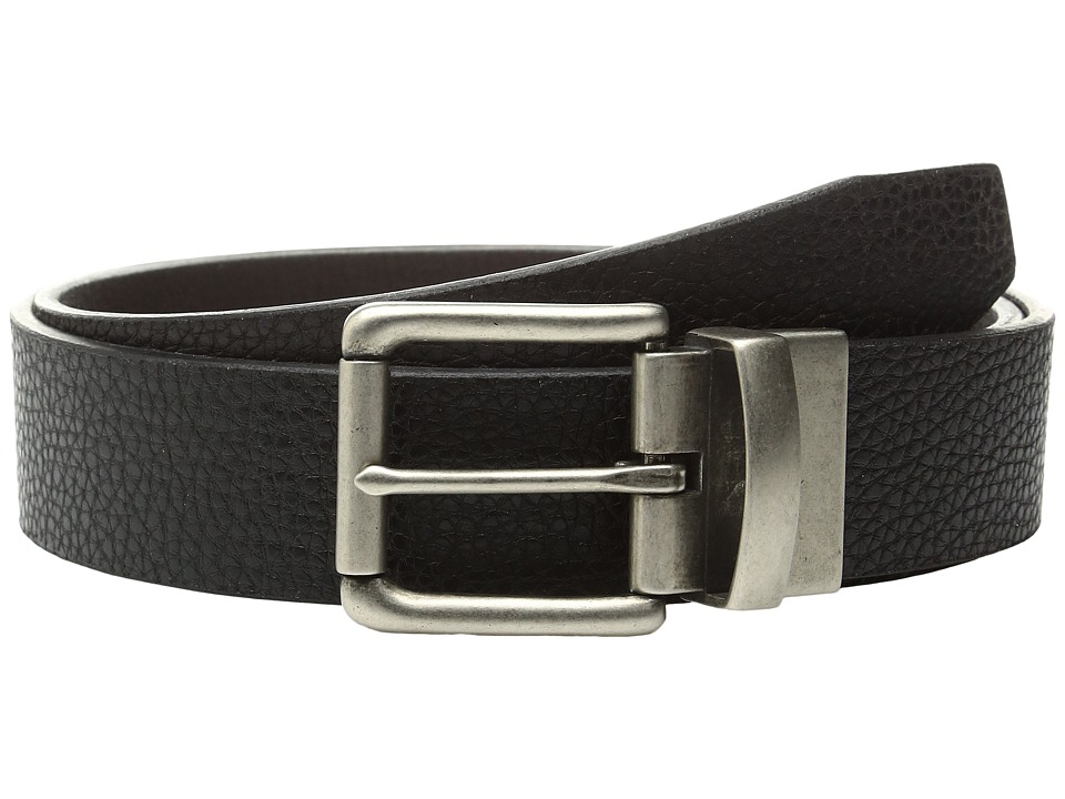 Bill Adler 1981 - 38mm Reversible Flat Strap (Black/Brown) Men's Belts