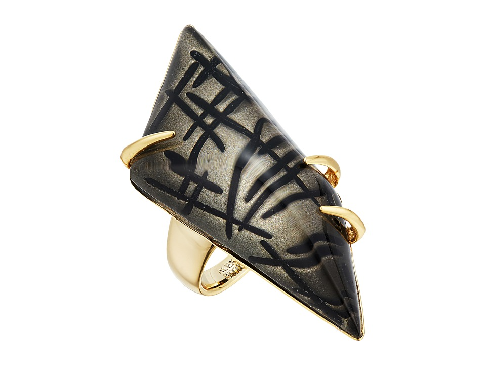 Alexis Bittar - Futurist Ring (Rutilated Ash) Ring