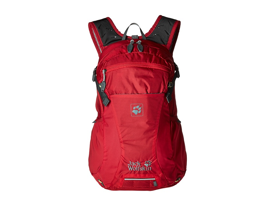 Jack Wolfskin - Moab Jam 18 (Racing Red) Backpack Bags