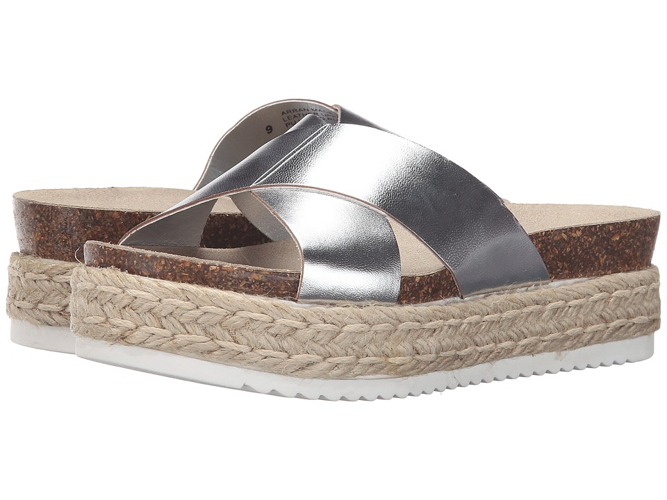 Steve Madden - Arran (Silver Leather) Women's Shoes