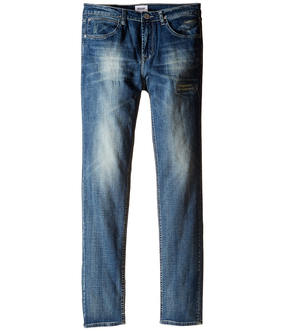 Hudson Kids - Jagger Slim Straight Five-Pocket in Ash Blue (Big Kids) (Ash Blue) Boy's Jeans