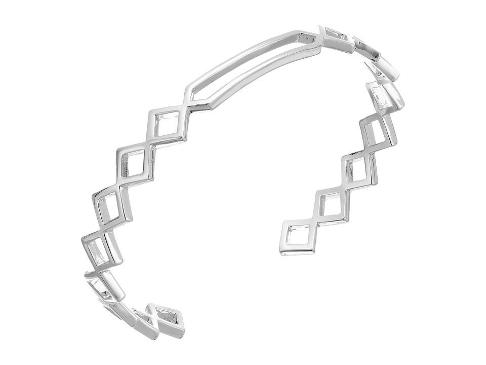 gorjana - Sia Cuff Bracelet (Silver) Bracelet
