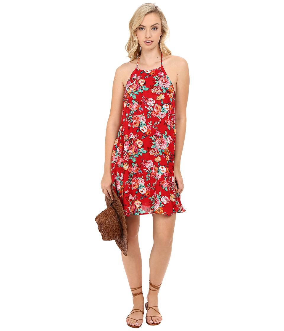 Show Me Your Mumu - Katy Halter Dress (Flower Love Cloud) Women's Dress