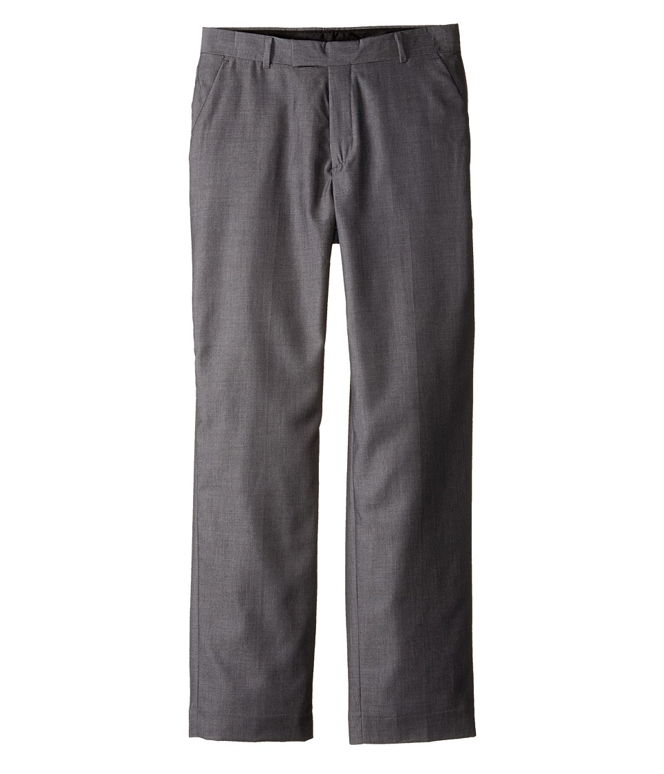 Calvin Klein Kids - Iridescent Twill Pants (Big Kids) (Silverware) Boy's Casual Pants