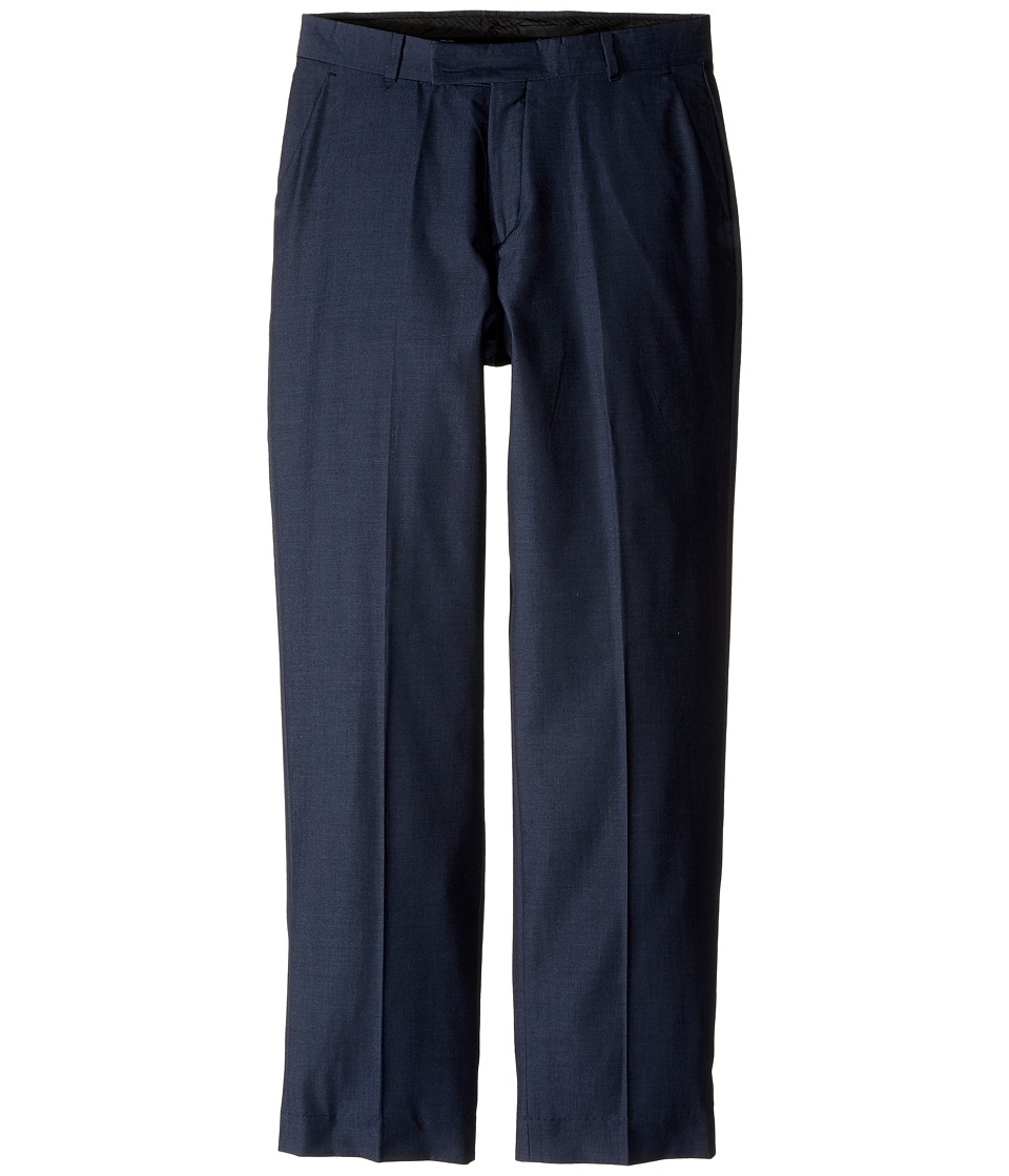 Calvin Klein Kids - Iridescent Twill Pants (Big Kids) (Dark Blue) Boy's Casual Pants