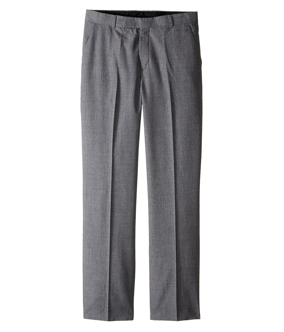 Calvin Klein Kids - Twist on Twist Pants (Big Kids) (Black) Boy's Casual Pants