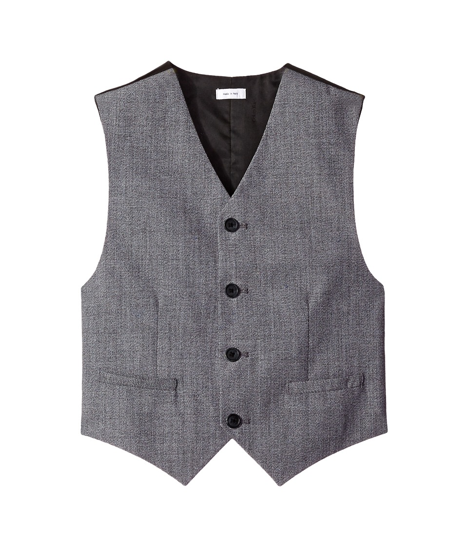 Calvin Klein Kids - Twist on Twist Vest (Big Kids) (Black) Boy's Vest
