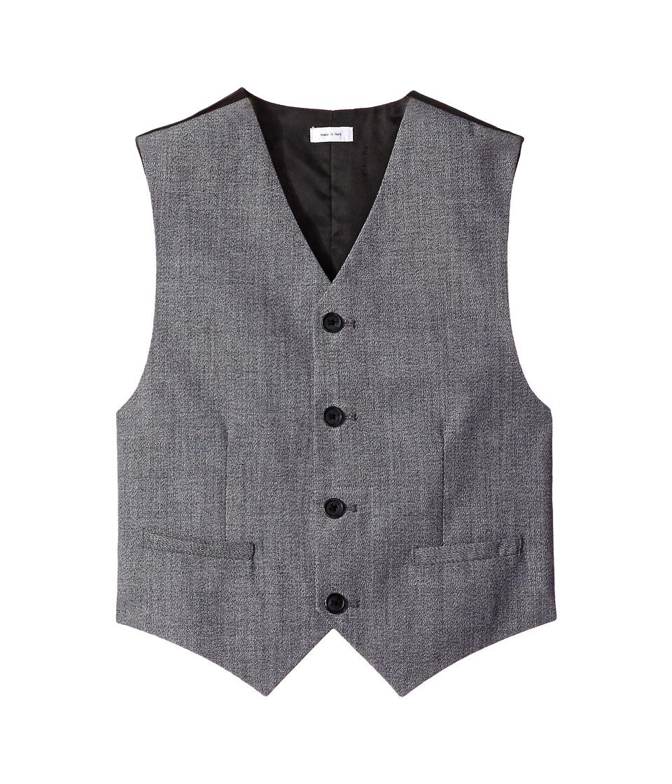 Calvin Klein Kids - Twist on Twist Vest (Big Kids) (Black) Boy's Vest
