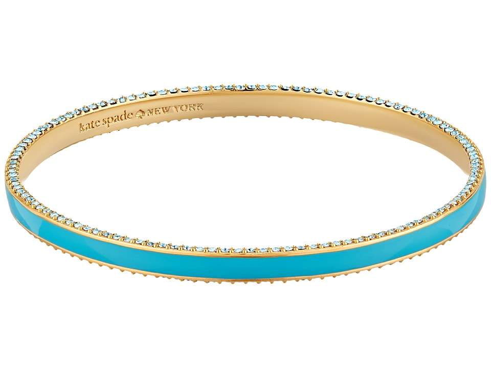 Kate Spade New York - The Bangles Enamel Bangle (Turquoise Multi) Bracelet