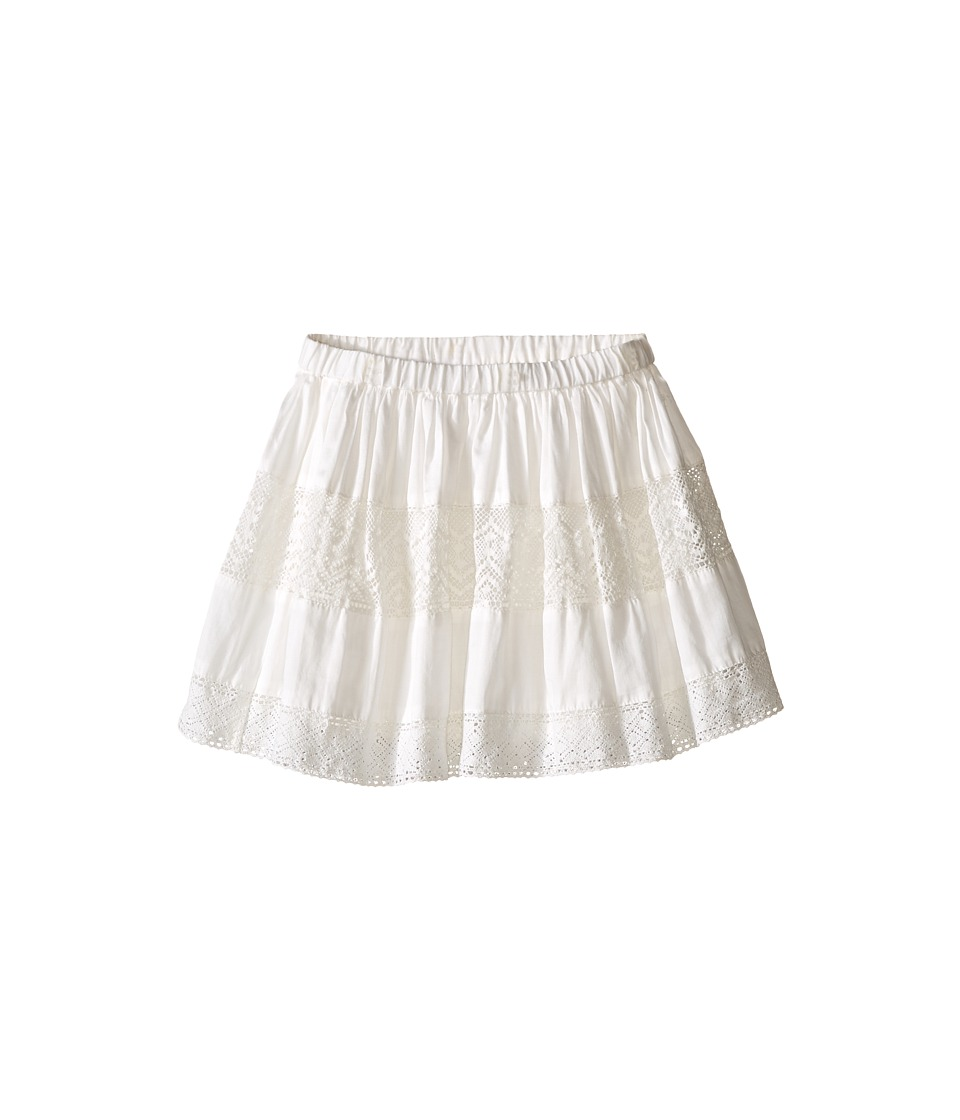 Kardashian Kids - Lace Skirt Elastic Waist (Infant) (Ivory) Girl's Skirt