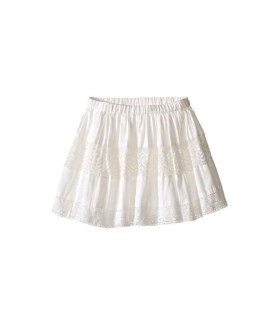 Kardashian Kids - Lace Skirt Elastic Waist (Infant) (Ivory) Girl's Skirt