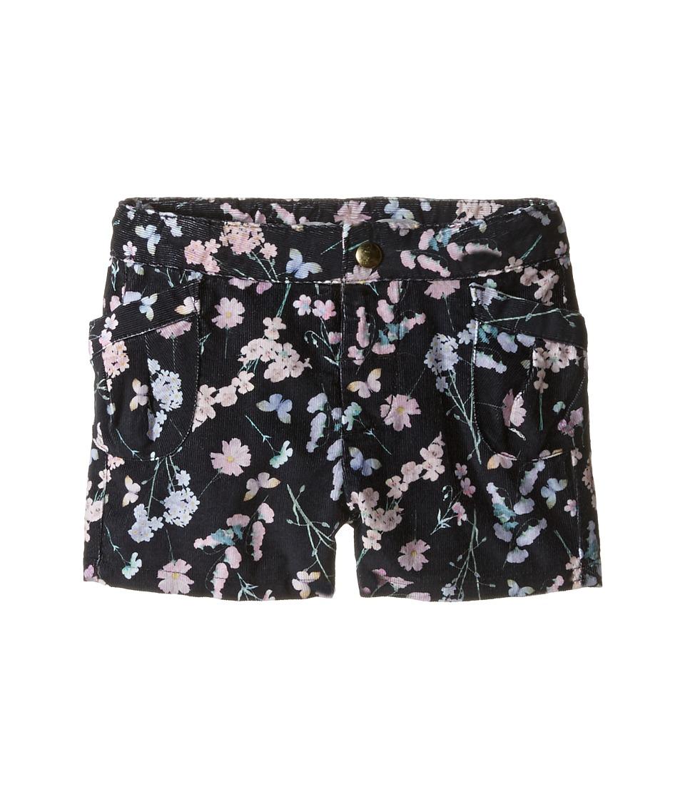 Kardashian Kids - Cord Printed Shorts (Infant) (Black Multi) Girl's Shorts