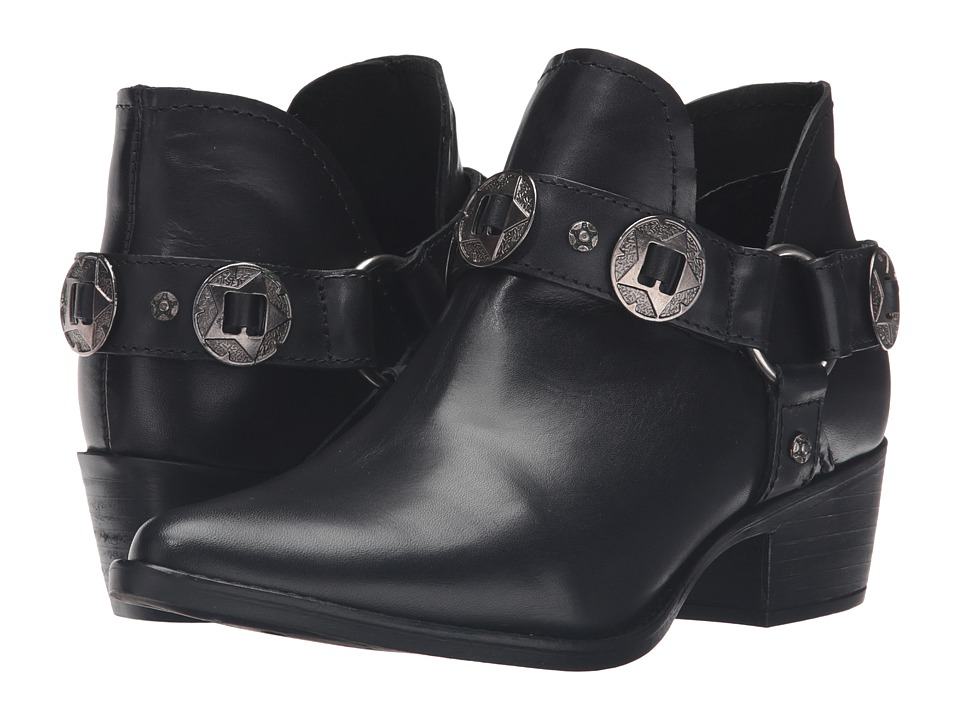 Steve Madden - Aces (Black Leather) Women's Shoes