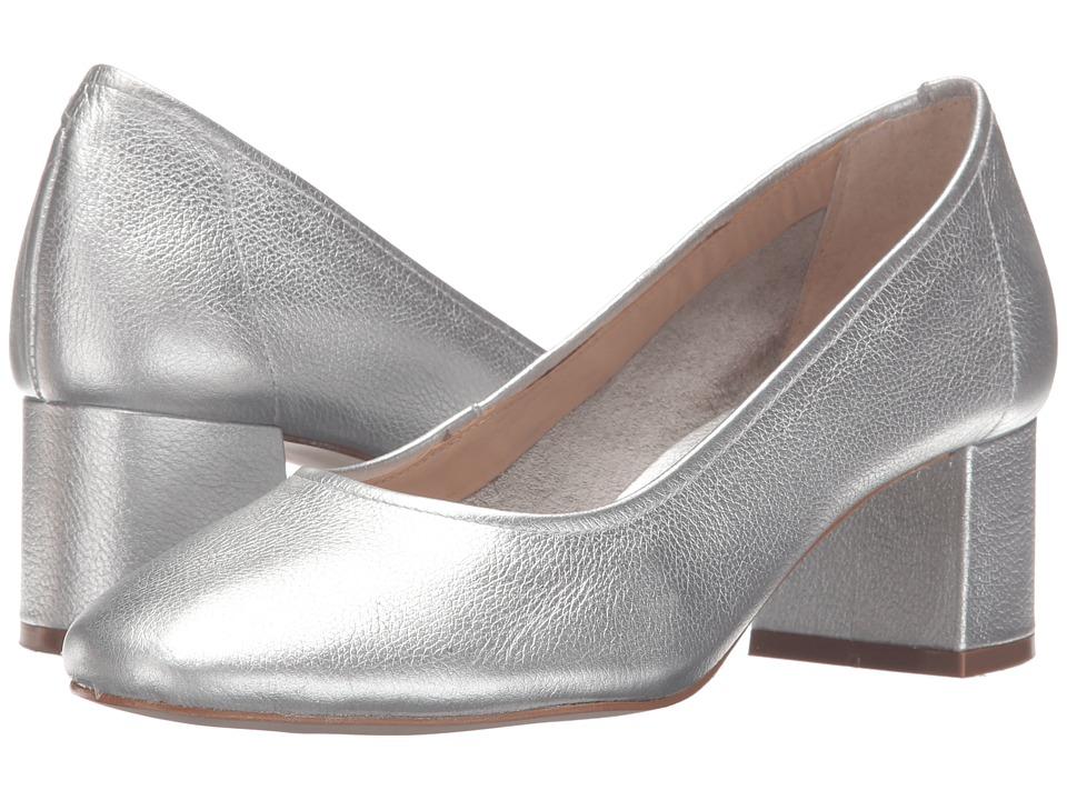 Steve Madden - Tattlee (Silver Leather) Women's Shoes
