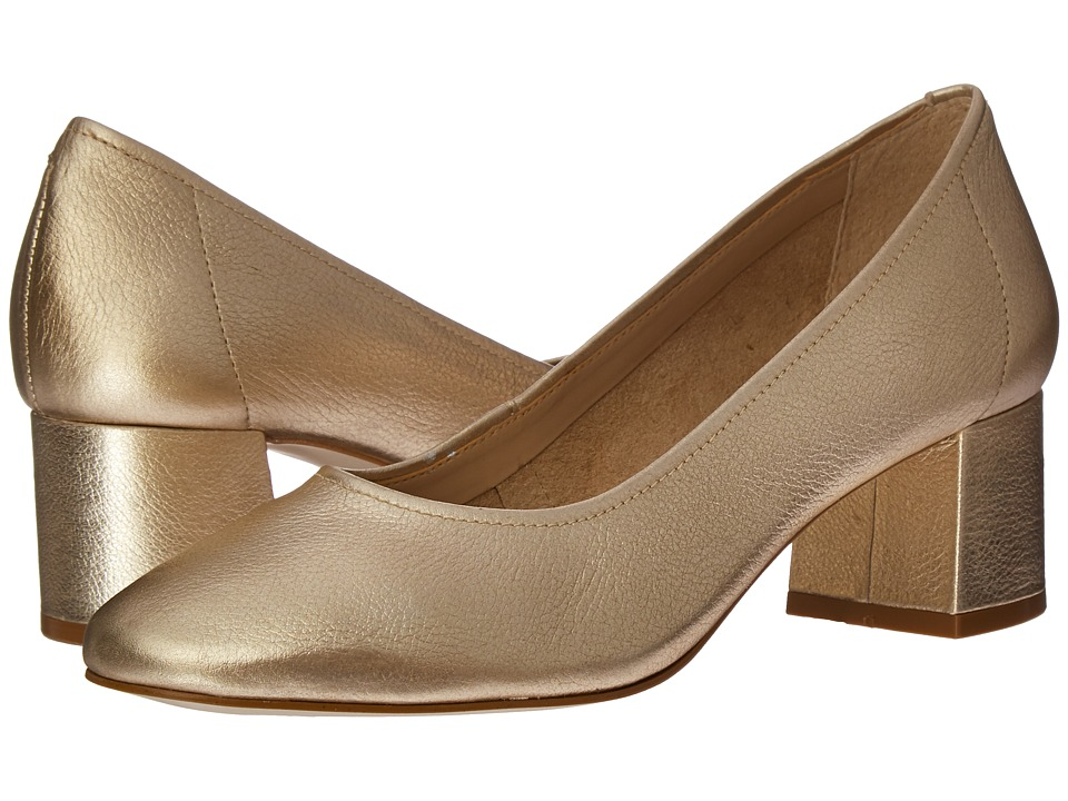 Steve Madden - Tattlee (Gold Leather) Women's Shoes