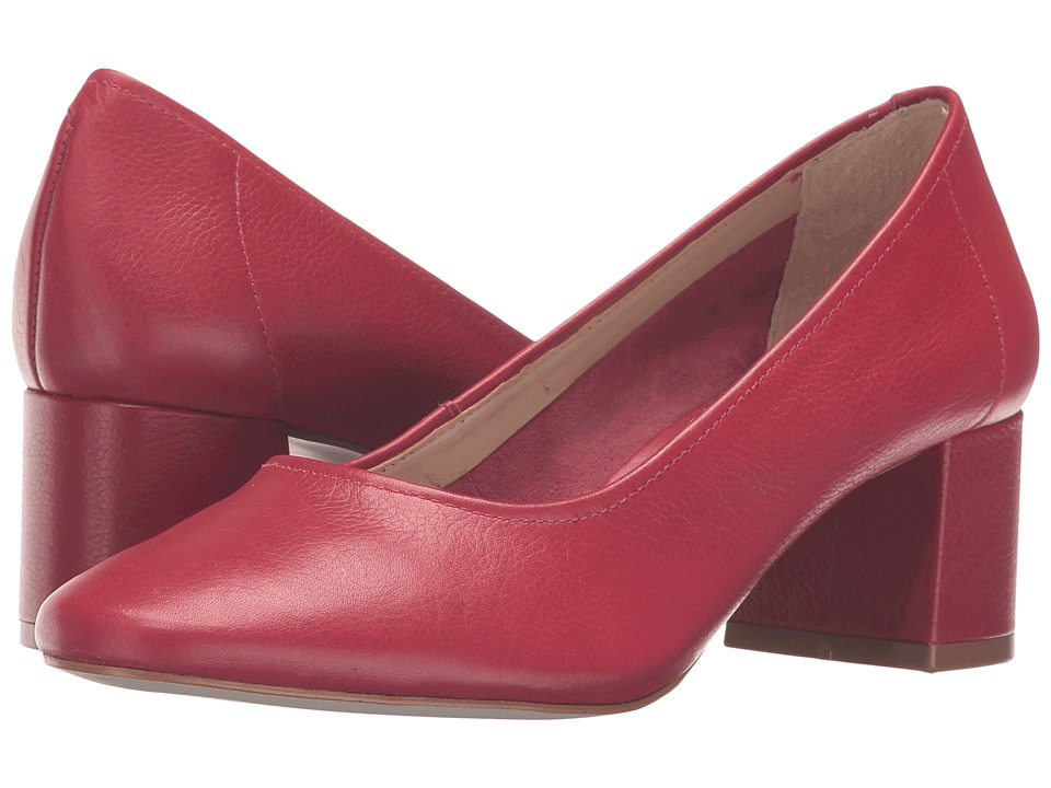 Steve Madden - Tattlee (Red Leather) Women's Shoes