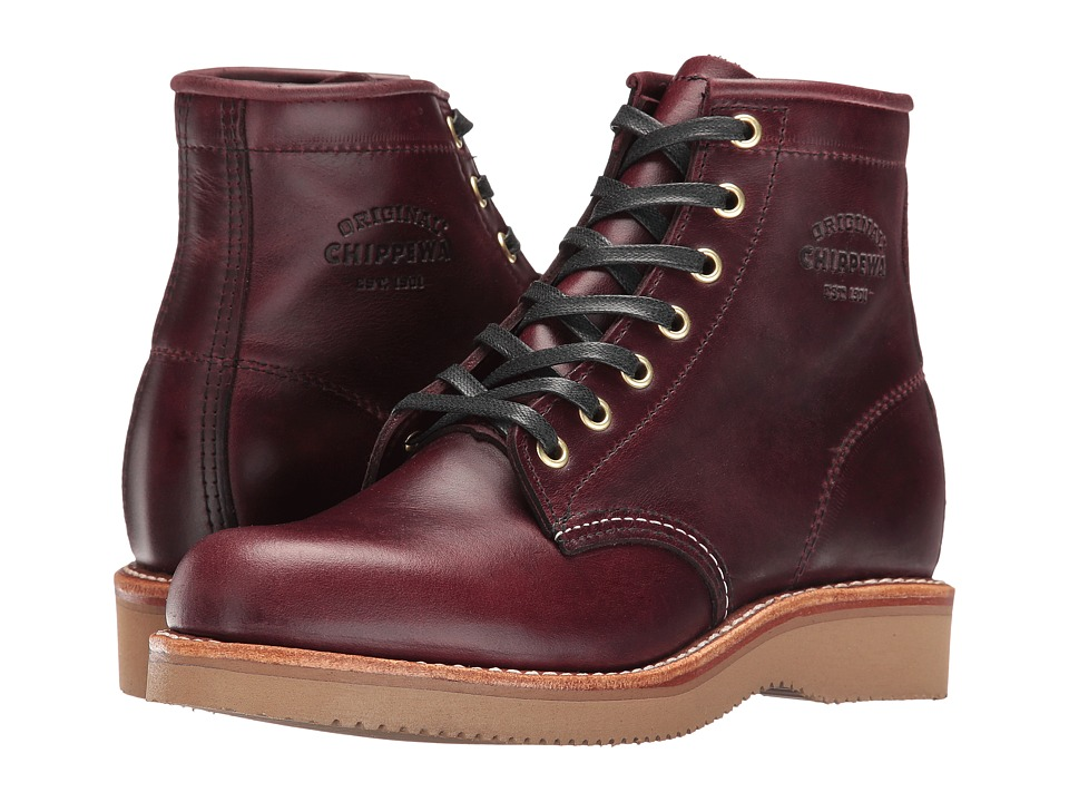 Chippewa - 6' Plain Toe (Cordovan) Women's Boots