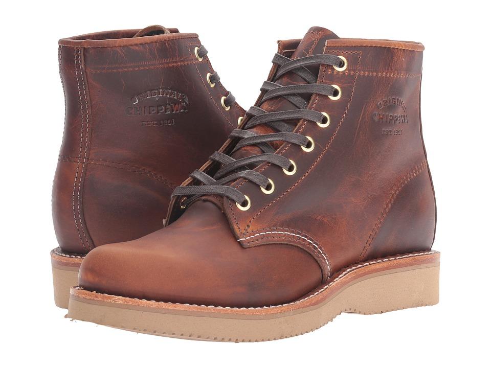 Chippewa - 6' Plain Toe (Tan Renegade) Women's Boots
