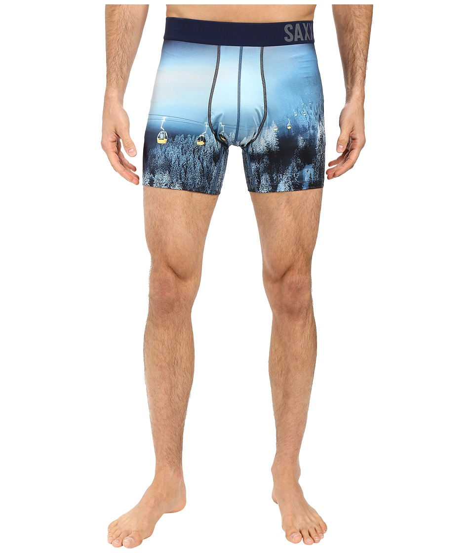 SAXX UNDERWEAR - Fuse Boxer (Night Ski) Men's Underwear