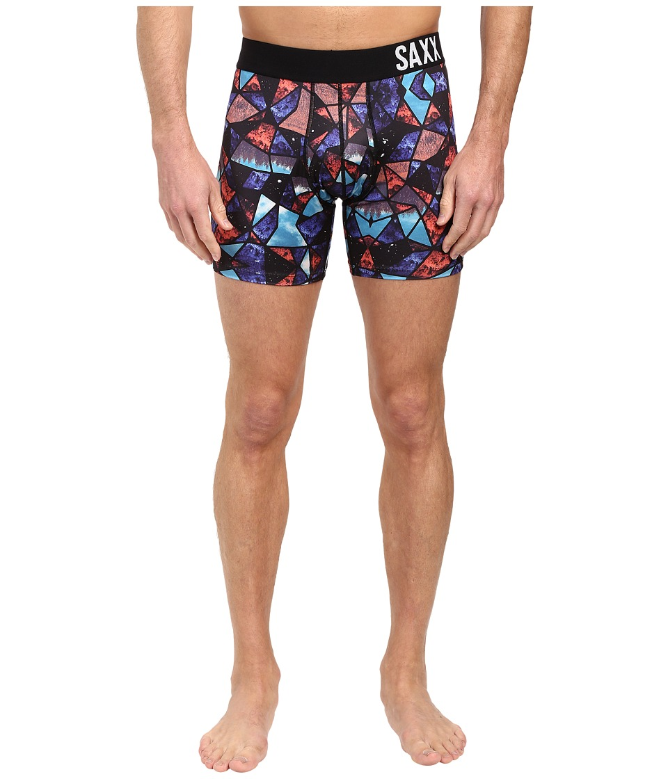 SAXX UNDERWEAR - Fuse Boxer (Shattered Galaxy) Men's Underwear