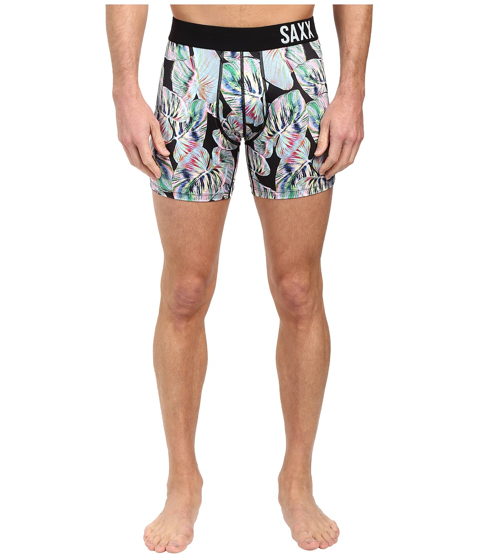 SAXX UNDERWEAR - Fuse Boxer (Giant Palm) Men's Underwear