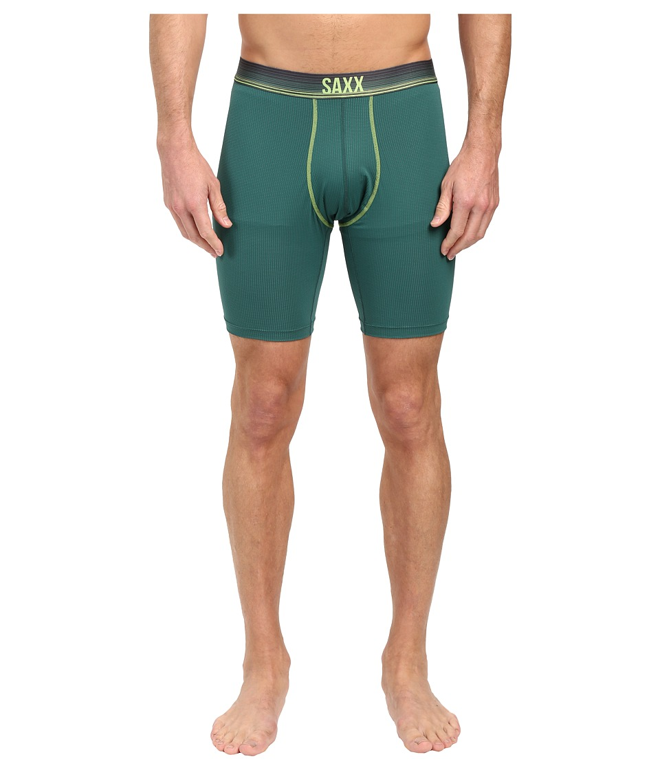 SAXX UNDERWEAR - Quest 2.0 Long Leg (Hunter Ombre Stripe) Men's Underwear