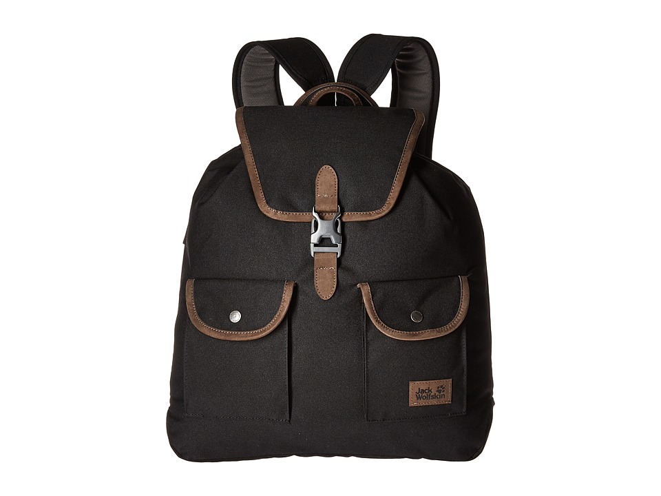 Jack Wolfskin - Woodford 20 (Black) Backpack Bags