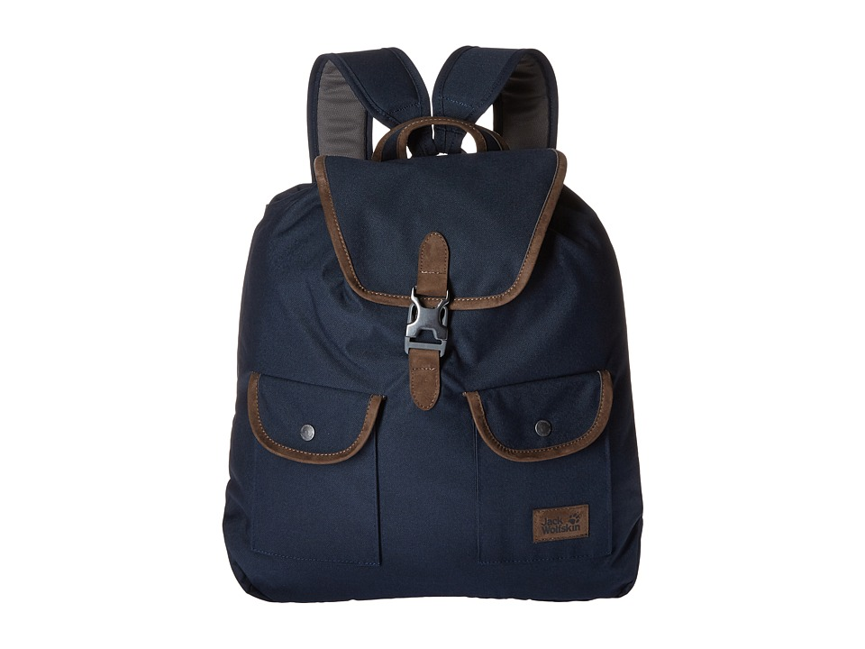 Jack Wolfskin - Woodford 20 (Night Blue) Backpack Bags