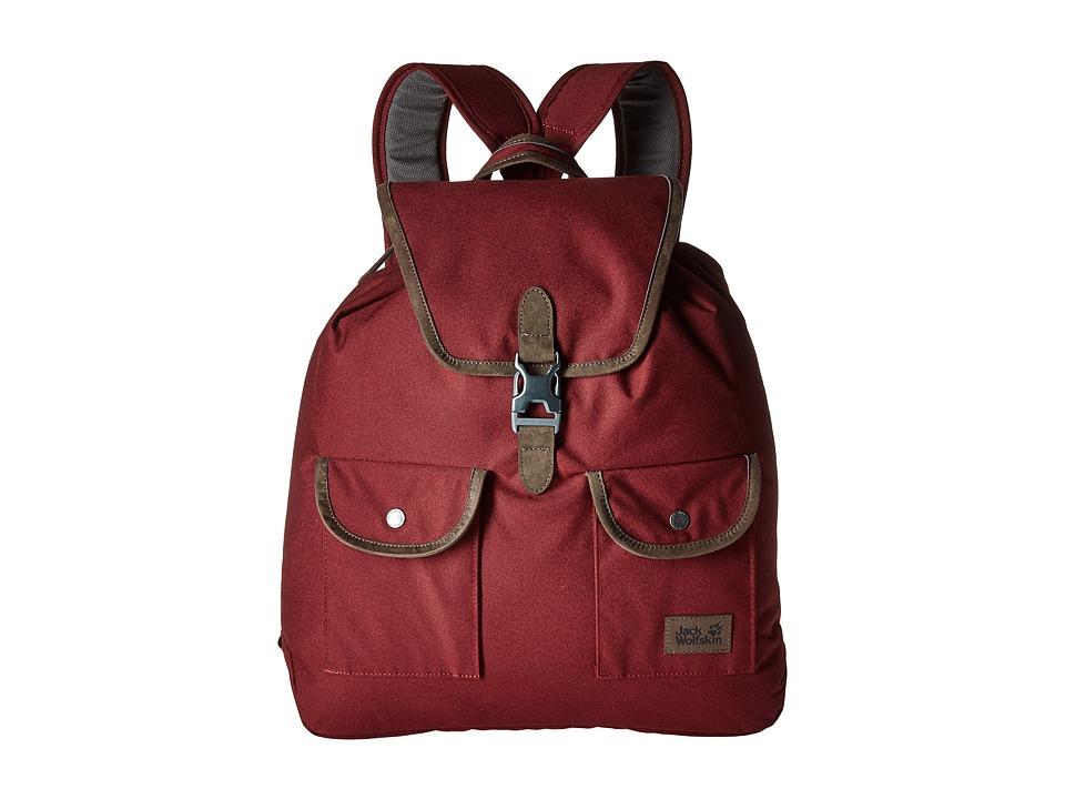 Jack Wolfskin - Woodford 20 (Cabernet) Backpack Bags