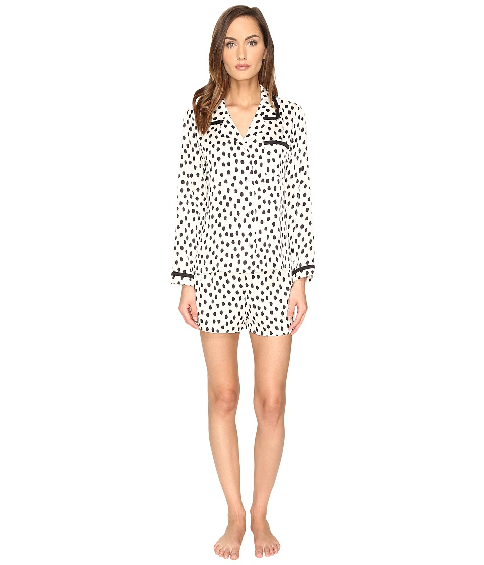 Kate Spade New York - Short PJ Set (Flamingo Dot) Women's Pajama Sets