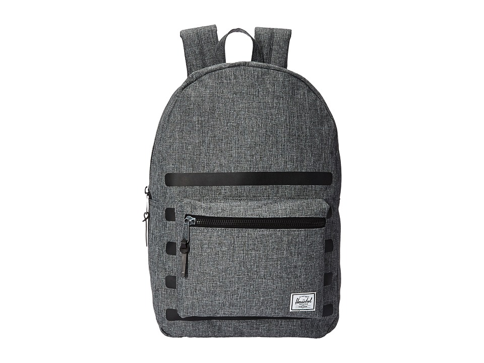 Herschel Supply Co. - Settlement (Raven Crosshatch Stripe) Backpack Bags