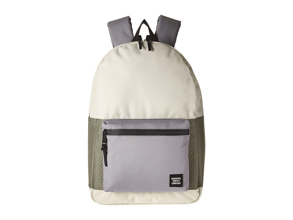 Herschel Supply Co. - Settlement (Pelican/Deep Lichen Green/Black) Backpack Bags