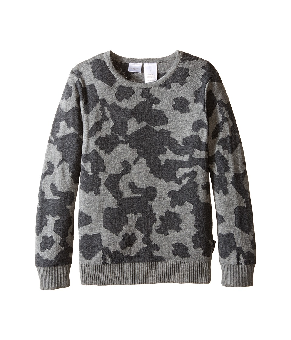 Kardashian Kids - Intarsia Sweater (Toddler/Little Kids) (Camo) Boy's Sweater