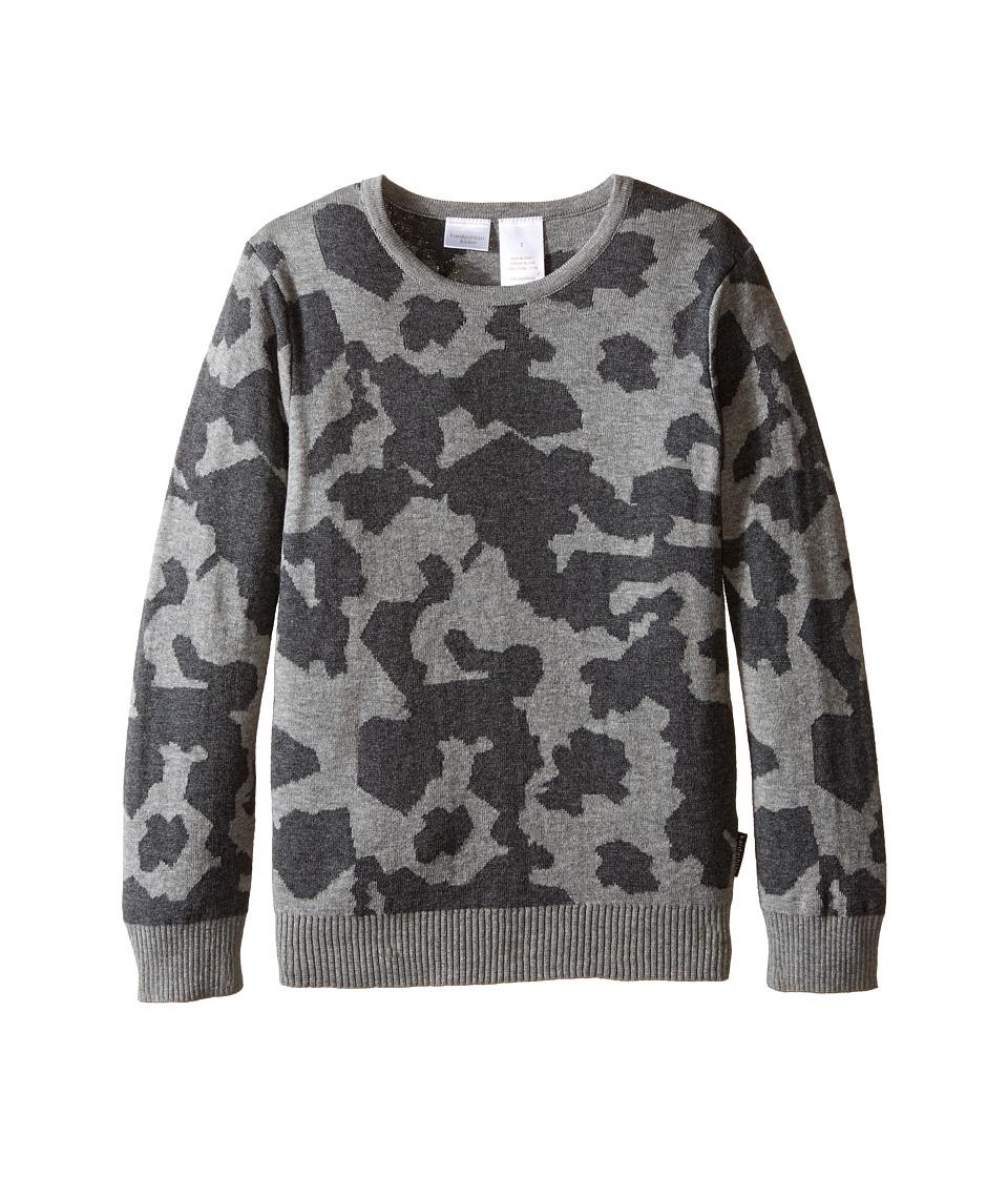 Kardashian Kids - Intarsia Sweater (Toddler/Little Kids) (Camo) Boy's Sweater