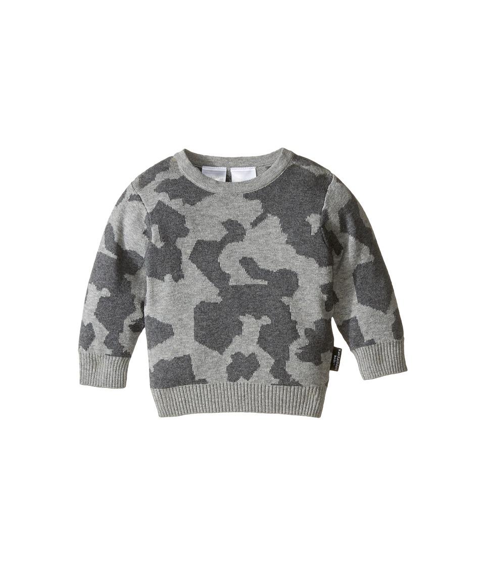 Kardashian Kids - Intarsia Sweater (Infant) (Camo) Boy's Sweater
