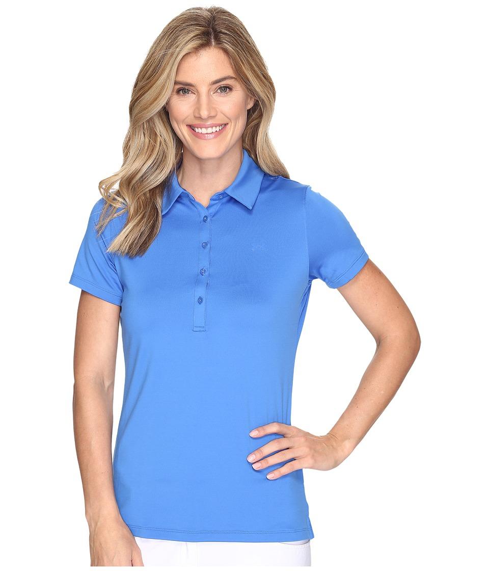 Under Armour Golf - Zinger Polo (Mediterranean/Mediterranean/Mediterranean) Women's Short Sleeve Pullover