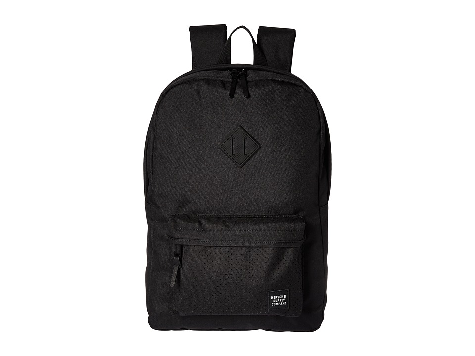 Herschel Supply Co. - Heritage (Black/Black Rubber 1) Backpack Bags