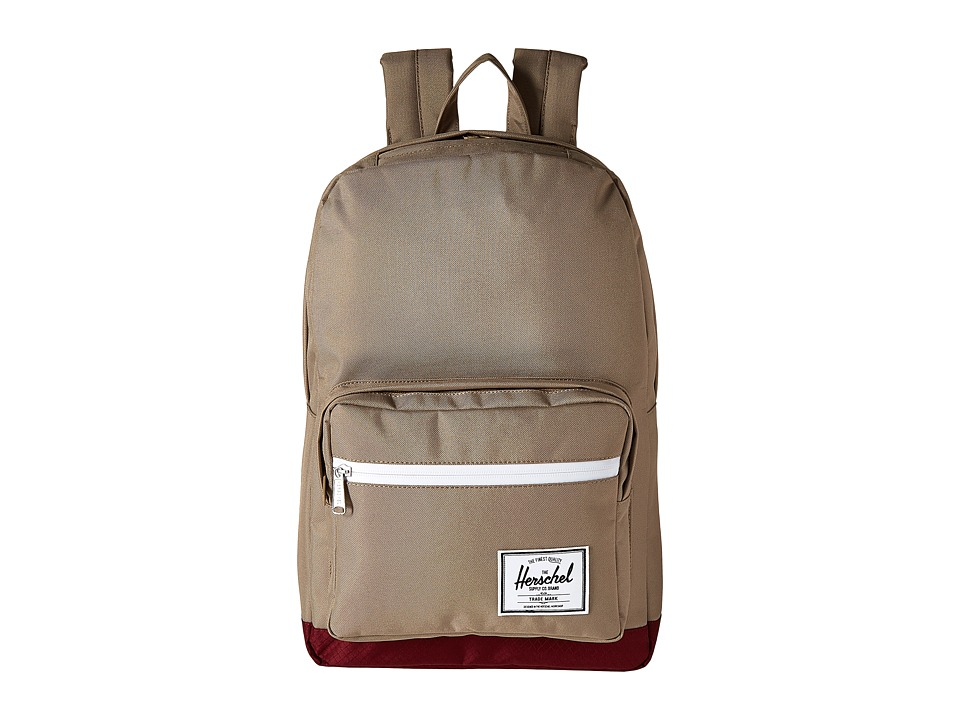 Herschel Supply Co. - Pop Quiz (Brindle/Windsor Wine) Backpack Bags