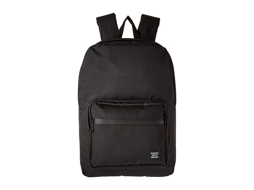 Herschel Supply Co. - Pop Quiz (Black/Black Rubber) Backpack Bags