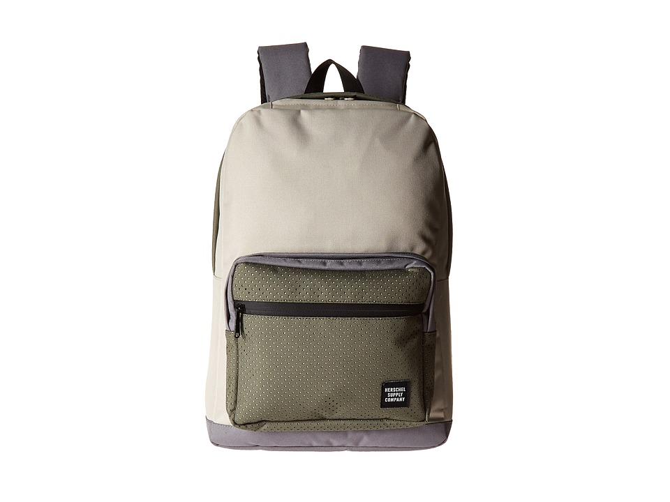 Herschel Supply Co. - Pop Quiz (Pelican/Deep Lichen Green/Black Rubber) Backpack Bags