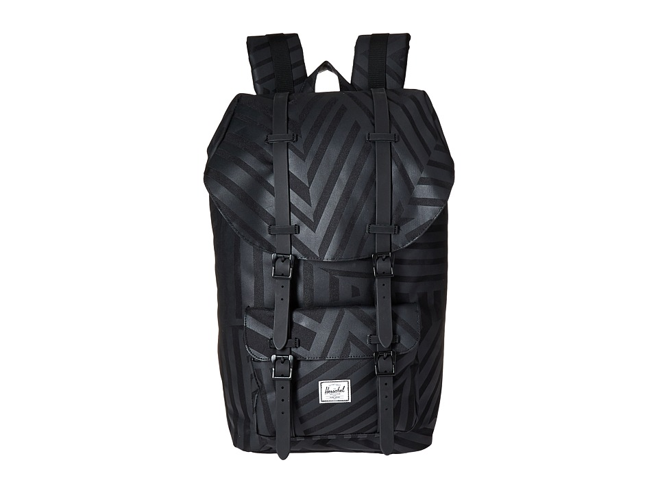 Herschel Supply Co. - Little America (Dazzle Camo/Black Rubber) Backpack Bags