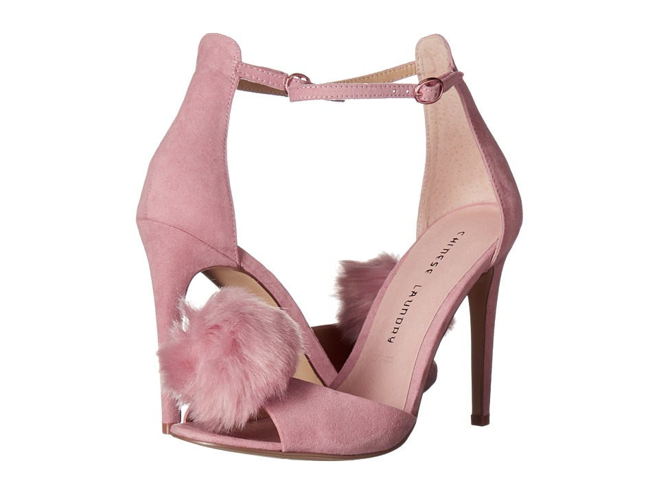 Chinese Laundry Jannet (Rose Micro Suede) High Heels
