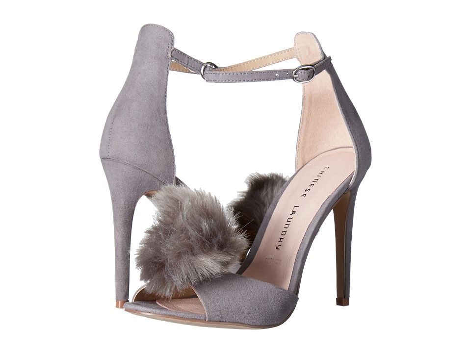 Chinese Laundry Jannet (Grey Micro Suede) High Heels