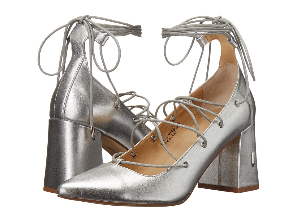 Chinese Laundry - Odelle (Silver Metallic) High Heels