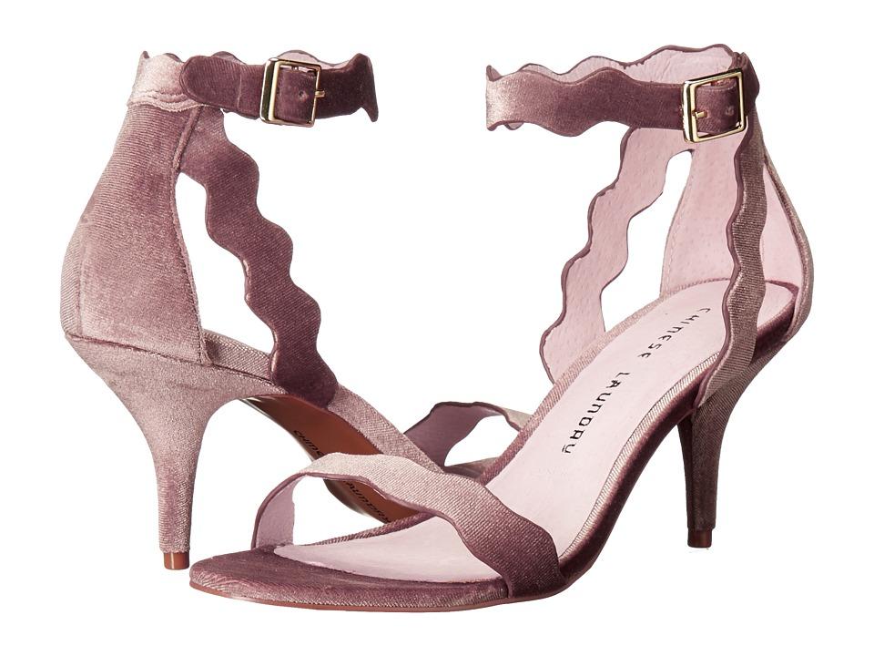 Chinese Laundry - Rubie Scalloped Sandal (Nude Rich Velvet) High Heels