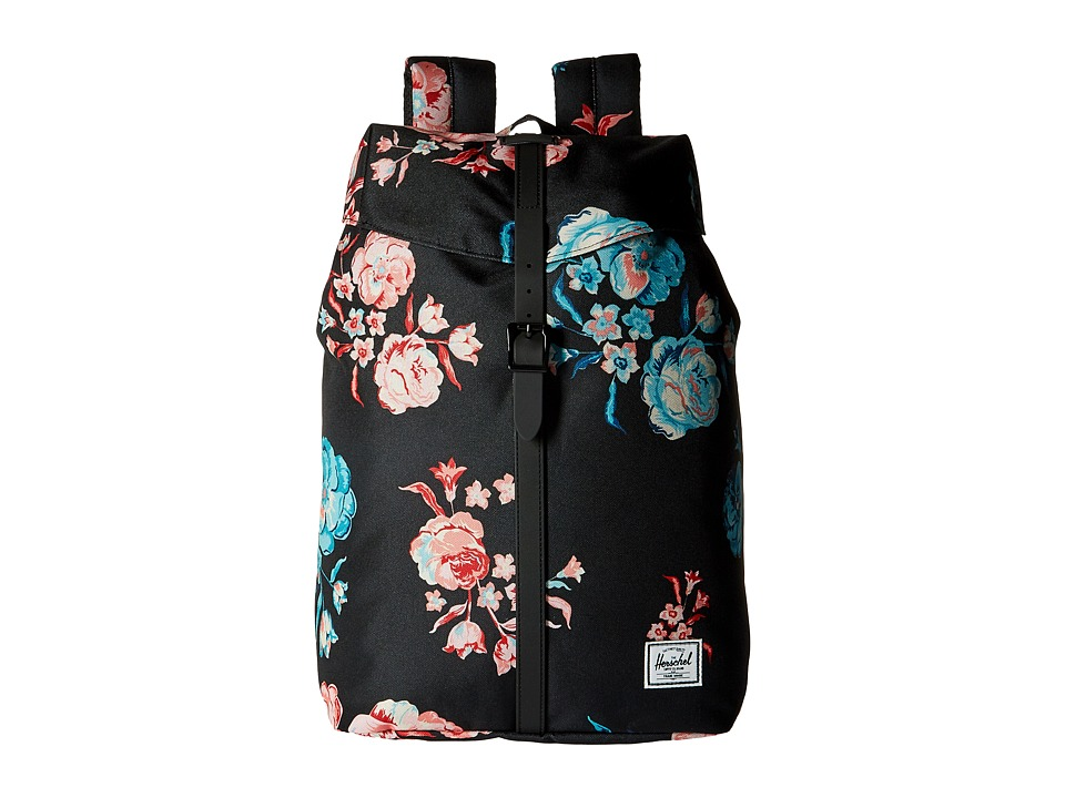 Herschel Supply Co. - Post Mid-Volume (Pastel Petals/Black Rubber) Backpack Bags